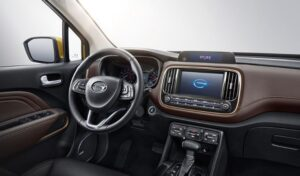 GAC GS3 SUV 1st Generation front cabin interior view