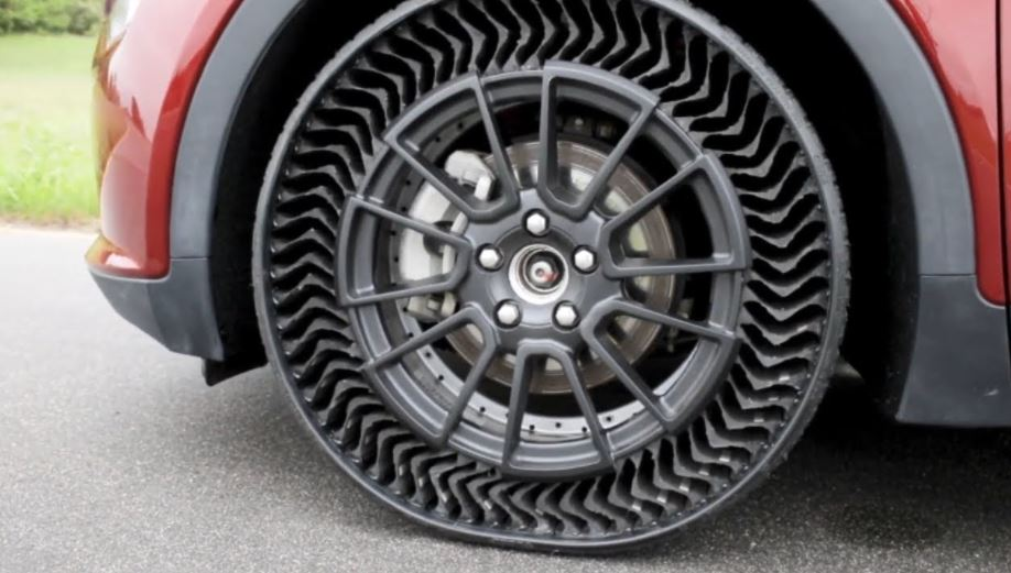 Michelin is ready to Bring Air Less Tires by 2024