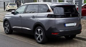 peugeot 5008 2nd generation facelift suv awesome side rear profile