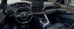 peugeot 5008 2nd generation facelift suv front cabin interior view
