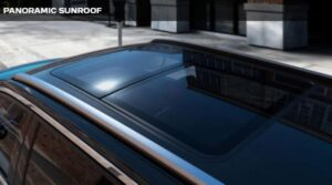 peugeot 5008 2nd generation facelift suv panoramic sunroof view