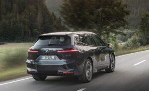 BMW IX Mid Size SUV 1st Generation Back side view