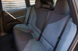 BMW IX Mid Size SUV 1st Generation Rear seats view