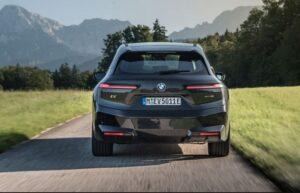 BMW IX Mid Size SUV 1st Generation full Rear view