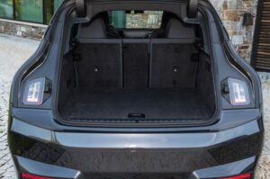 BMW IX Mid Size SUV 1st Generation luggage area view