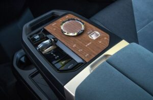 BMW IX Mid Size SUV 1st Generation transmission and drive mode controller