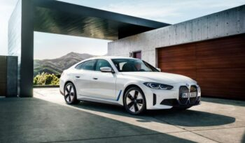 BMW i4 EV 1st generation sedan feature image