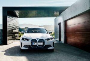BMW i4 EV 1st generation sedan full front view