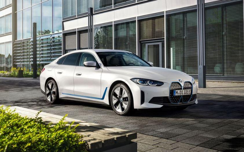 BMW i4 EV 1st generation sedan title image
