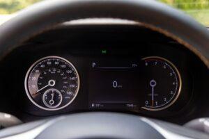 Genesis G70 Sedan 1st Generation facelift instrument cluster view