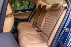 Genesis G70 Sedan 1st Generation facelift rear seats view