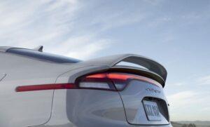 Kia stinger sedan Refreshed 1st generation white tail lamps