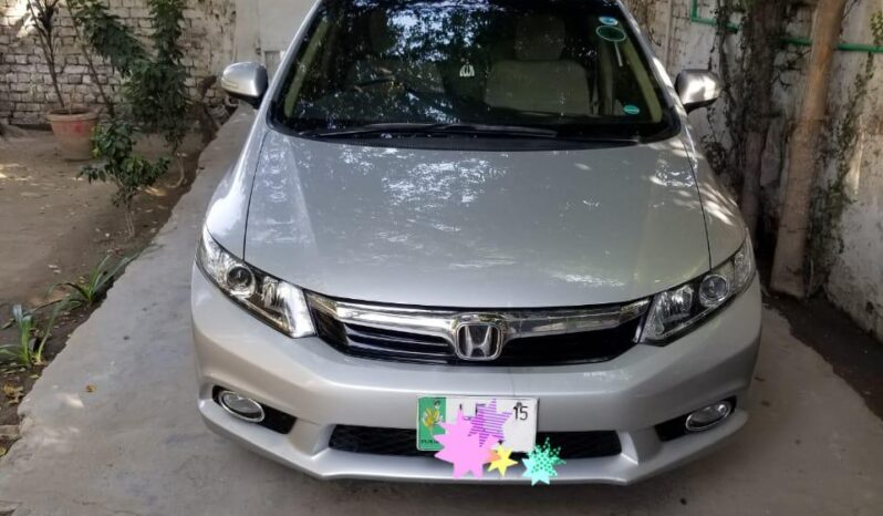 Certified Used 2015 Honda Civic VTI Prosmetic Rebirth Pakistan full