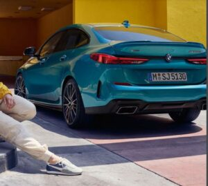 bmw 2 series gran coupe 1st generation full rear view