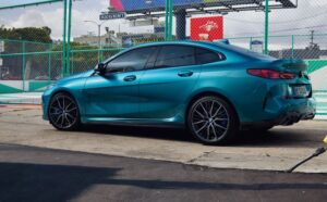 bmw 2 series gran coupe 1st generation full side view