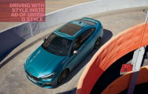 bmw 2 series gran coupe 1st generation full view from upside