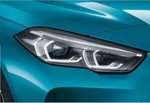 bmw 2 series gran coupe 1st generation headlamp view